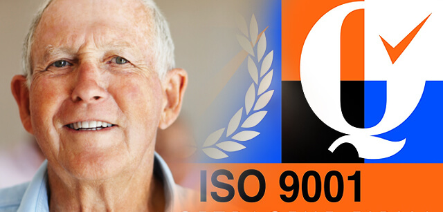 ISO 9001 Accreditation for Stonehaven
