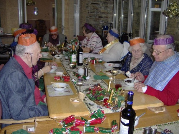 Christmas at Chollacott House