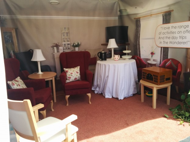 Devon County Show – our stand is up!