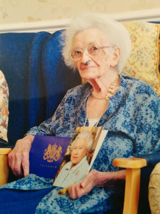 Beatrice Staddon celebrates turning 100!