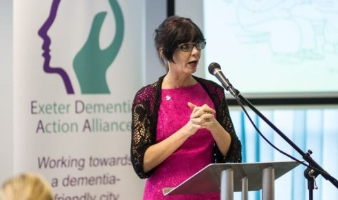 Fantastic work by the Exeter Dementia Action Alliance Continues