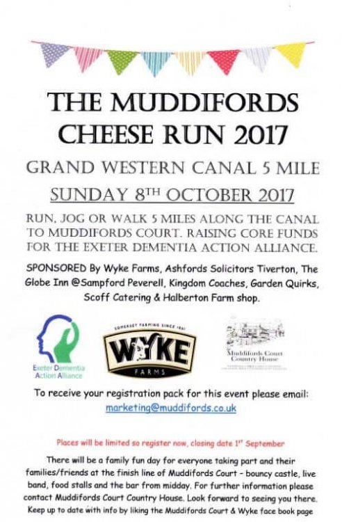 Running in Support of the Exeter Dementia Action Alliance