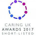 Caring Uk Awards logo