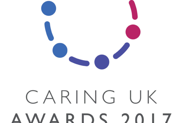 Caring Uk Awards logo