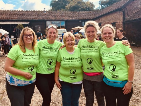 Stonehaven run in aid of the Exeter Dementia Action Alliance