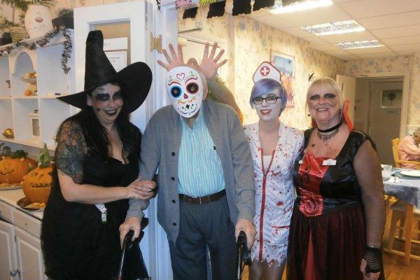 Donnington House - Halloween 2017