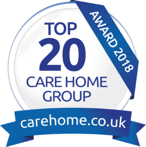 Top 20 Care Home Group 2018