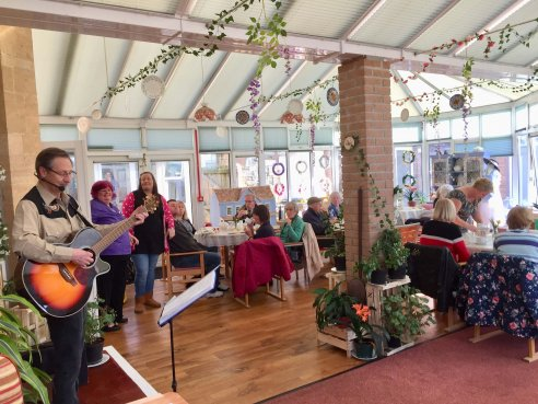 Coffee Morning at Chollacott House