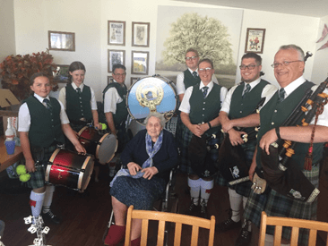 Ruth Celebrates her 100th Birthday at Donnington House