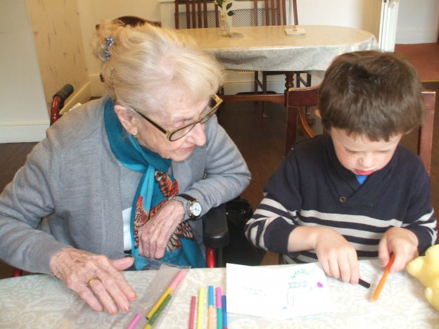 Intergenerational Learning at St Petrocs