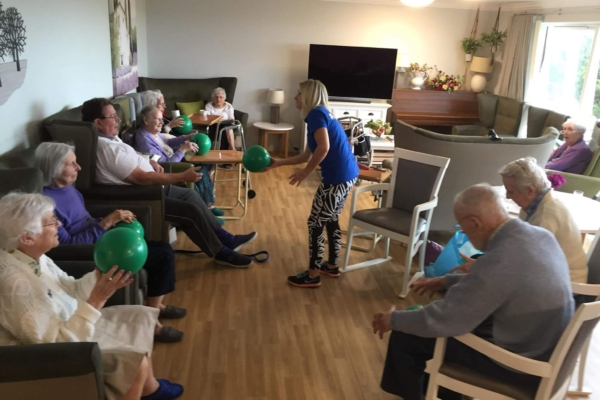 Primrose House in Westward Ho! - The new move it or lose it exercise