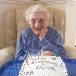 Donnington House - Olive turns 103
