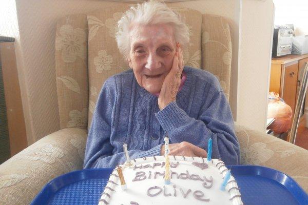 Donnington House - Olive turns 103