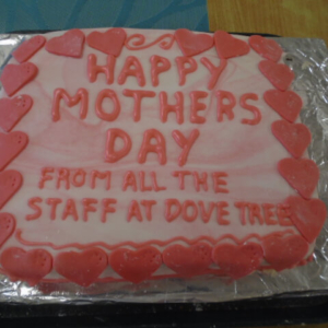 Dove Tree House - mothers day cake