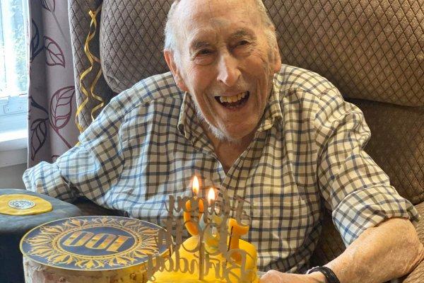 Chollacott House - Peter turns 100!