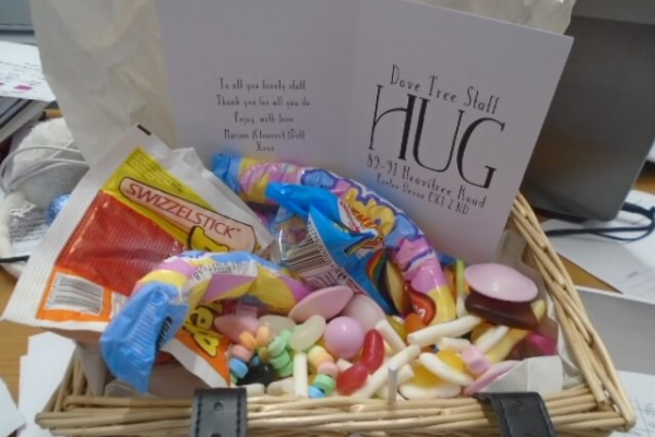 Dove Tree House - Sweets hamper