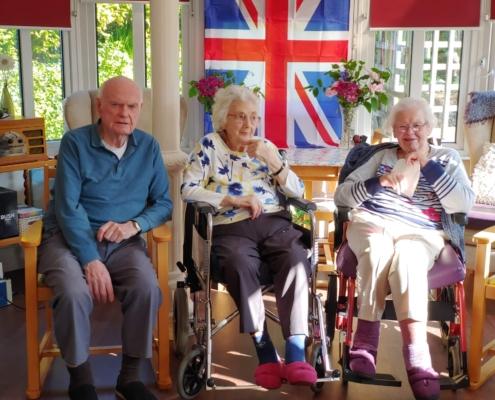 Cross Park House - VE Day Celebrations
