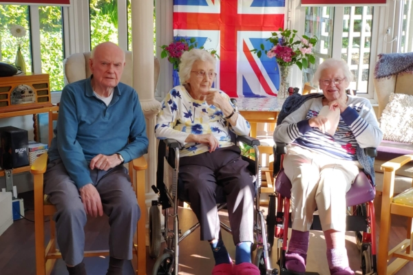 Cross Park House - VE Day Celebrations