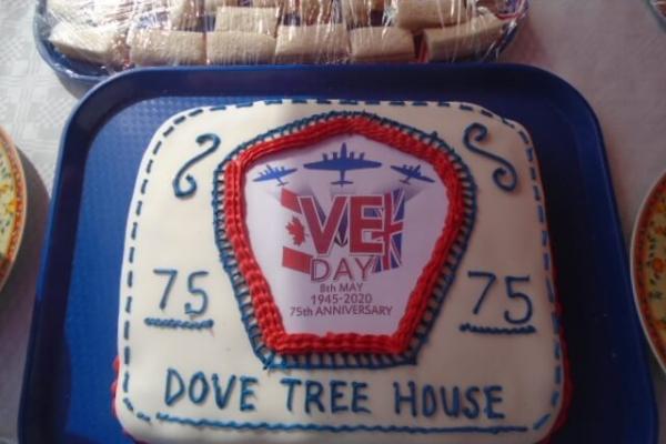 Dove Tree House - VE Day Celebration Cake