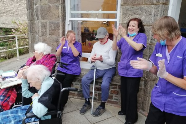 Kent House - Clapping for Carers
