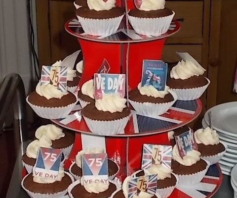 St Petrocs - VE Day Cupcakes