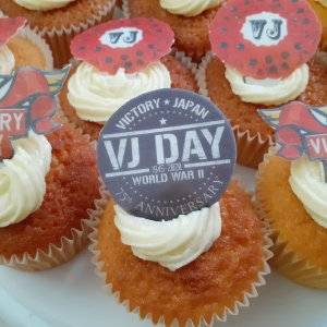 The Manor - VJ Day Cupcakes