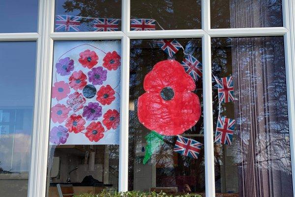 Chollacott House - Armistice Day